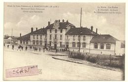 Mancieulles  Mines De Saint-Pierremont :  La Mairie, Les écoles - Andere Gemeenten