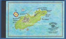 ALDERNEY AURIGNY 1998 COMPLETE PRESTIGE BOOKLET MILITARY GARRISON I & II SG ASB 6 - Alderney