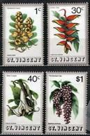 St. Vincent 1972 Mi 316-319 Flowers Of S. Vicent - MNH - St.Vincent (1979-...)
