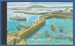 ALDERNEY AURIGNY 2001 COMPLETE PRESTIGE BOOKLET MILITARY GARRISON V  SG ASB 11 - Alderney
