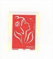Lamouche TVP Rouge De Roulette ITVF YT 3743i Avec Phospho à Cheval . Voir Le Scan . Cote YT : 10 € Maury N° 3725a : 10 € - Varietà: 2000-09 Nuovi