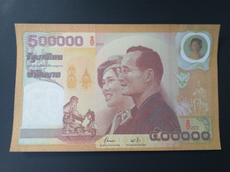 REPRODUCTION THAILANDE 500.000 BAHT 2000.FAKE - Thaïlande