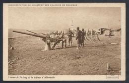 COLONIES BELGES. CONGO. ALBERTVILLE. CANONS DE 76 LONG DE LA DEFENSE - Other