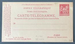 France Entier N°98-CPP1 Neuve - Cote 175€ - (B1488) - Postales Tipos Y (antes De 1995)