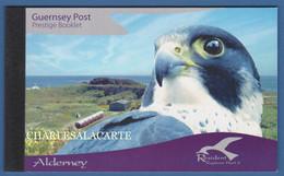 ALDERNEY AURIGNY 2008 COMPLETE PRESTIGE BOOKLET RAPTORS  SG ASB 18 - Alderney
