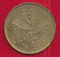 ITALIE 20 LIRE - 1958 - Unclassified