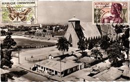 Congo-brazzaville - Brazzaville - Cathédrale Ste-anne - Stade Félix éboué - Brazzaville