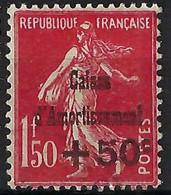 FRANCE Caisse D'Amortissement: Le Y&T 277, Neuf*, Forte Cote - Ungebraucht