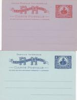 2 Cartes Entier Postaux - Haití