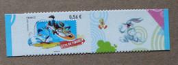 A1-L4 : Fête Du Timbre - Personnages De Dessins Animés Des Looney Tunes (autoadhésif / Autocollant) - Luchtpost