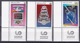 Israel 1988 - Mi.Nr. 1080 - 1082 - Postfrisch MNH - Neufs (avec Tabs)