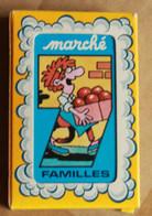 Jeu De Cartes De 7 Familles Le Marché Fleurs Glaces Primeurs France Cartes 54 Saint Max - Autres