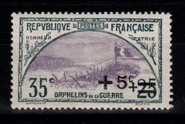 2eme Orphelin YV 166 N* (légère) Bien Centré Cote 16,50+ Euros - Ungebraucht