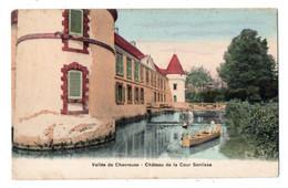 29961-LE-78-Vallée De Chevreuse-Château De La Cour Senlisse--------------barque-animée - Chevreuse