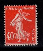 YV 194 N** Semeuse Cote 6 Euros - Ungebraucht