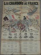 """Rare Recueil """"Les Chansons De France"""", Chants Paroles, Illustré, Refrains Nouveaux Pour 1915, WWI Ww1 - Scores & Partitions"""