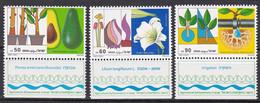 Israel 1988 - Mi.Nr. 1113 - 1115 - Postfrisch MNH - Neufs (avec Tabs)