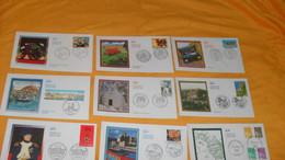LOT 23 ENVELOPPES FDC DIVERS DE 2002../ NOUVELLES MARIANNES, COLLIOURE, LEGION D'HONNEUR, ROCAMADOUR, VACANCES, LOUIS DE - 2000-2009