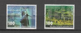 2012  N° 1428 à 1429   BELLES OBLITERATIONS     CATALOGUE  ZUMSTEIN - Gebraucht