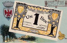 < (03) Nice Alpes Maritimes .. Carte Postale Billet Nécessite Un Franc Chambre De Commerce .. TTB - Chambre De Commerce