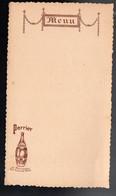Menu (neuf) Offert Par PERRIER (PPP28850) - Menus