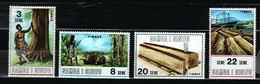 Samoa & Sisifo 1971 Mi 232-235 Timber Industry - MNH - Samoa