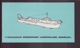 """Invitation """" Baptême Du Chalutier Paris-Bretagne """" Le 31 Mars 1962 à Lorient - Unclassified"""