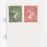 4939) Falkland Islands Queen Victoria - Falkland Islands