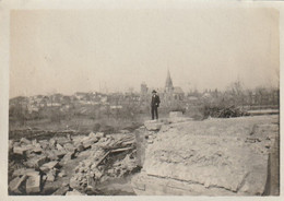 Photo Mars 1920 Une Vue De GRANDPRE Prise D'un Pont (A229, Ww1, Wk 1) - Sonstige Gemeinden