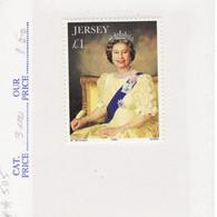 4919) Jersey Queen Elizabeth Mint No Hinge 1993 - Jersey