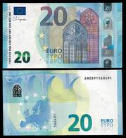 20 Euro Banknote 2015(2020) UNC P-28E Prefix-EM Slovakia Sign Lagarde NEW (MA#01) - Slovacchia