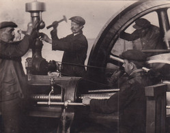 """RUSSIA. # 5838 PHOTO. """"PRODUCTION. TOKARI. MACHINE. WORKERS. - Altri"""