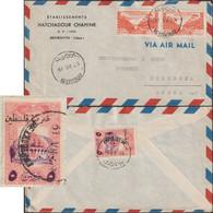 Liban 31 VII 1949, De Beyrouth à Toreboda, Suède. Timbre De Bienfaisance Pour La Palestine Michel 6. Usage Tardif - Lebanon