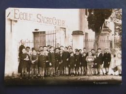 TARASCON  ( 13 ) Photo De L'Ecole Du Sacré Coeur             - Par TARNAND - Luoghi