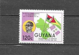 Guyana 1986 Mich. Nr° 1728 (**) - Guyane (1966-...)