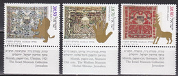 Israel 1989 - Mi.Nr. 1137 - 1139 - Postfrisch MNH - Neufs (avec Tabs)