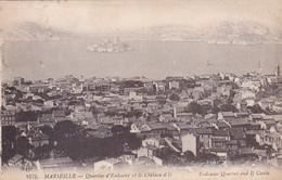 13, Marseille, Quartier D'Endoume Et Le Château D'If, Habitations, Phare, Mer, Côte - Château D'If, Frioul, Islands...