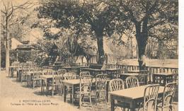 CPA - 20757-77 - Montigny Sur Loing  - Terrasse De L'Hôtel De La Vanne Rouge-Envoi Gratuit - Other Municipalities