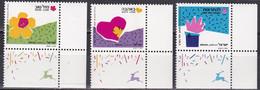 Israel 1989 - Mi.Nr. 1147 - 1149 - Postfrisch MNH - Neufs (avec Tabs)