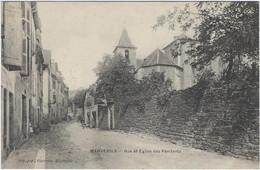 48  Marvejols  - Rue Et Eglise Des Penitents - Marvejols