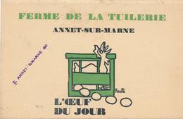 CPA-19858+77-Annet Sur Marne -Illustration Publicitaure Pour La Ferme De La Tuilerie  -Envoi Gratuit - Other Municipalities