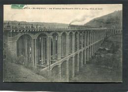 CPA - SAINT BRIEUC - Le Viaduc De Souzin - Train - Saint-Brieuc