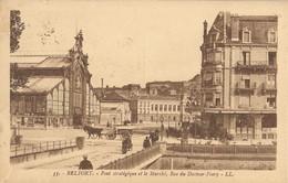 BELFORT  -  Le  Marché  -  Rue  Du  Docteur  Frery - Belfort - City