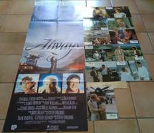AFFICHE CINEMA FILM ALWAYS + 11 PHOTOS STEVEN SPIELBERG DREYFUSS HUNTER GOODMAN HEPBURN 1989 TBE - Manifesti & Poster