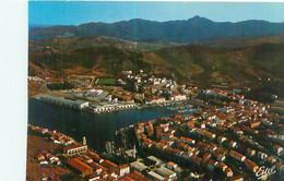 Cpsm -  Port Vendre    -  La Ville Et Le Port    F772 - Port Vendres
