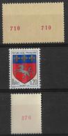 France Roulettes 1435b Ronchamp, 1510b Saint Lo, Avec N° Rouge Et 1510c Saint Lo, Roulettes Neuves** - Rollen