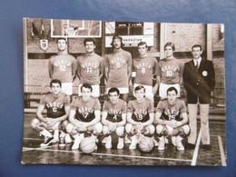 BERCK  ( 62 ) Photo De L'équipe De BASKET - CLUB  - 1970        -  Par BERJOT - Sports