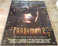 AFFICHE CINEMA FILM CANDYMAN 2 BILL CONDON Kelly ROWAN Tony TODD 1995 TBE - Manifesti & Poster