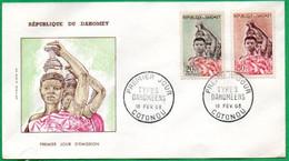 FDC - Types Dahoméens - 1963 - Benin – Dahomey (1960-...)