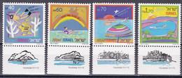 Israel 1989 - Mi.Nr. 1116 - 1119 - Postfrisch MNH - Neufs (avec Tabs)